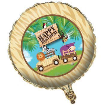 Ballon Mylar Safari Aventure