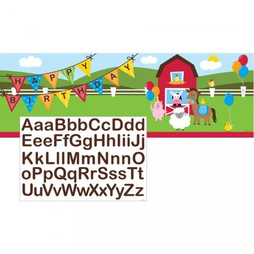 Affiche géante Happy Ferme