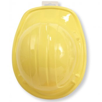 Casque jaune Attention Chantier !