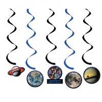 Contient : 1 x 5 Guirlandes Spirales Espace