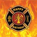 16 Serviettes Pompier Rescousse