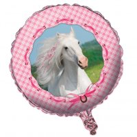 Contient : 1 x Ballon Mylar Mon Joli Cheval