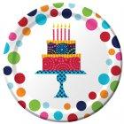 8 Petites assiettes Birthday Elegance