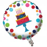 Ballon Mylar Birthday Elegance