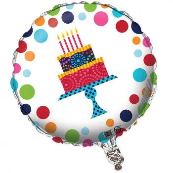 Ballon Mylar Birthday Elegance