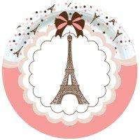 Contient : 1 x 8 Assiettes Parisienne