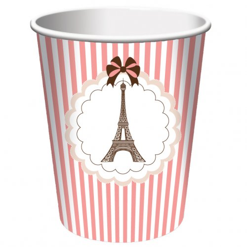 8 Gobelets Parisienne