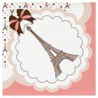 18 Serviettes Parisienne