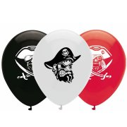 6 Ballons Bâteau Pirate