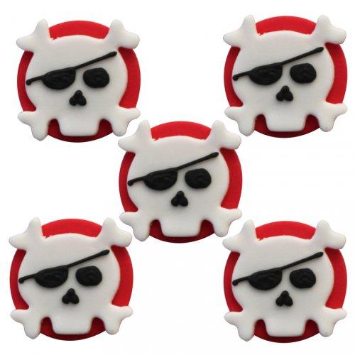 5 Décors en sucre Pirate Rebel