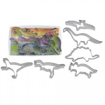 6 Emporte-pièces Dinosaure