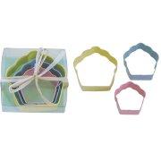 3 Emporte-pièces Cupcake