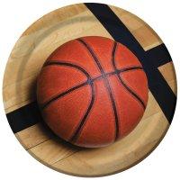 Contient : 1 x 8 Assiettes Basket Passion