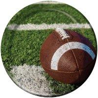 Contient : 1 x 8 Assiettes Football américain Passion