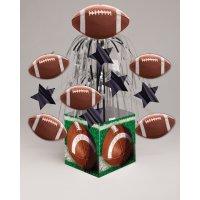 Contient : 1 x Centre de table cascade Football américain Passion
