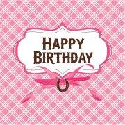 16 Serviettes Happy Birthday Mon Joli Cheval