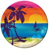 8 Petites Assiettes Palm Beach