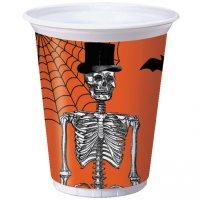 Contient : 1 x 8 Gobelets Squelette Chic