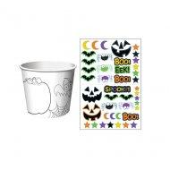 6 Pots à bonbons Halloween à personnaliser