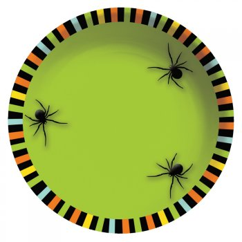 Bol à bonbons Halloween Araignée