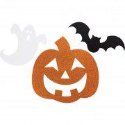12 D�coration paillet�es Halloween