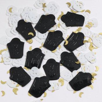 Confettis Squelette et cercueils