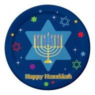 8 Assiettes Happy Hanouka
