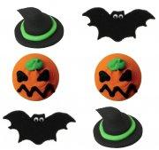 6 Décors Halloween Spooky en sucre