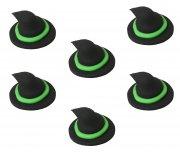 6 Chapeaux de sorci�re en sucre