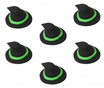 6 Chapeaux de sorcière en sucre