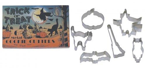 6 Emporte-pièces Halloween
