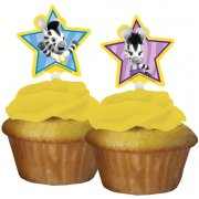 12 Pics à cupcakes Zou