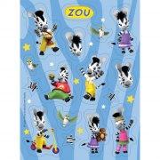 4 Planches de stickers Zou
