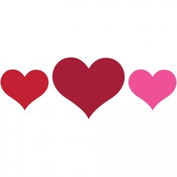 9 Décorations Coeurs