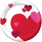 8 Petites Assiettes Coeurs