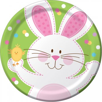 8 Assiettes Lapin Chic