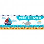 Affiche Baby Shower Voilier