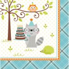 16 Serviettes Animaux enchant�s