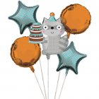 5 Ballons Animaux enchantés