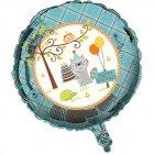 Ballon Mylar Animaux enchantés