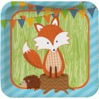 8 Assiettes Fox le Renard