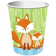 8 Gobelets Fox le Renard