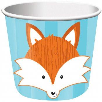 6 Pots à bonbons Fox le Renard