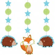 3 D�corations � Suspendre Fox le Renard