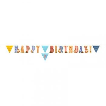 Guirlande lettres Happy Birthday Fox le Renard