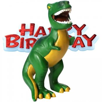 Figurine Dinosaure Happy Birthday