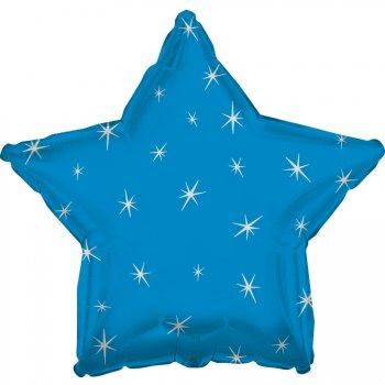 Ballon Mylar Etoile Bleu