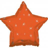 Ballon Mylar Etoile Orange