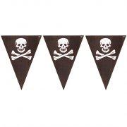 Guirlande Fanions Pirate Têtes de Mort