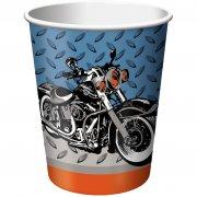 8 Gobelets Moto Bikers